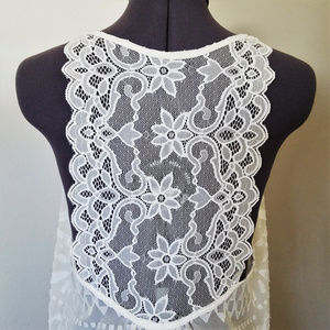 In Bloom by Jonquil White Lace Slip Size S